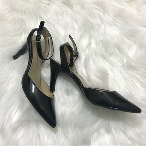 Adrienne Vittadini Ankle Strap Pointy Pumps Heels